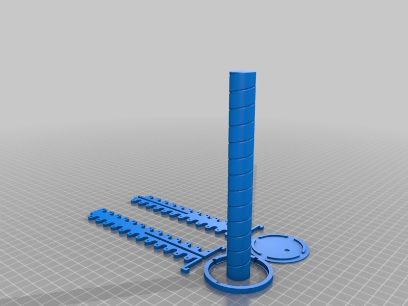 Customizable Helix (Helical) Antenna Frame and Winding Template by