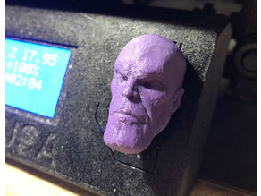 Prusa i3 - Selector Knob - Super Hero - Thanos