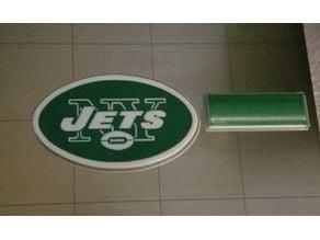 NY Jets Fridge Magnet (2 colors)