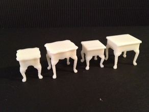 Miniature Queen Anne End Tables