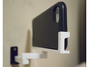 Articulated Phone Holder, Wall-mounted