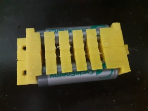 AA size battery holder