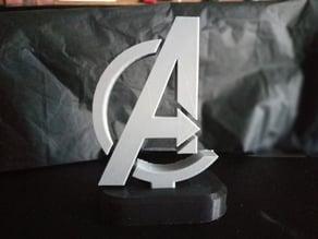 Marvel Avengers Logo Stand