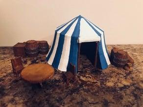 Tabletop RPG Circus Tent