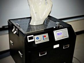 Vaporize PLA & ABS surface processor for 3D printer