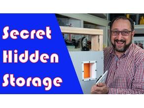 Secret Hidden Storage Compartment