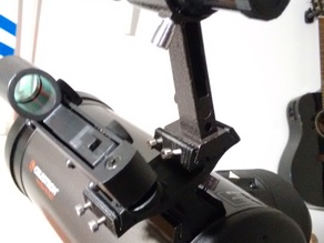 (Remix, narrower angle) Dual Dovetail Sight Mount for Telescopes