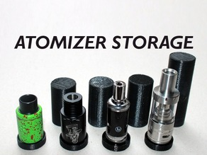 Atomizer Storage And Display Stand