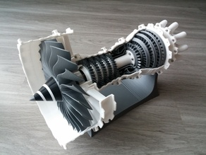 3D Printable Jet Engine