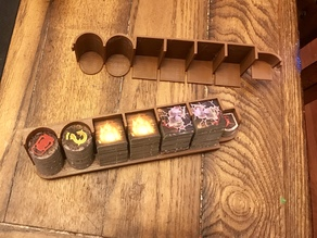 Mansions of Madness 2ed: XL Token Tray and Cover