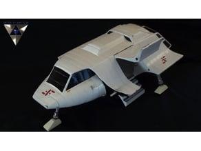 V Spaceship Stacked Vector replica