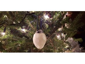Egg Christmas Tree Ornament Topper