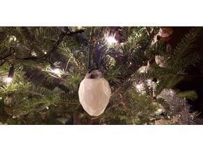 Egg Christmas Tree Ornament Topper