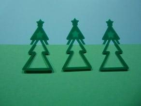 Christmas Tree Bookmark
