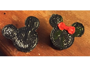 Mickey and Minnie Plugs
