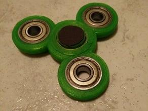 Improved Fidget Spinner - designed for PLA