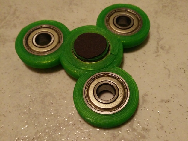 Improved Fid Spinner designed for PLA by MKotsamanes Thingiverse