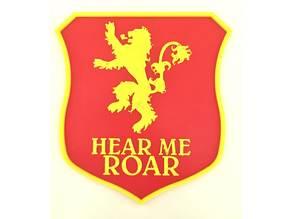Lannister Sigil - Game Of Thrones Banner