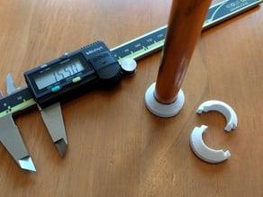 15mm Pipe Collar Trim