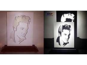 Elvis Silhouette