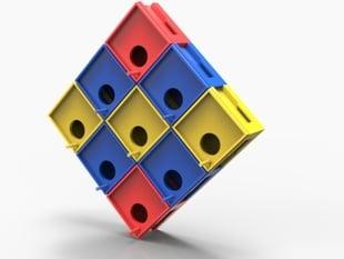 """""""8-bit"""" Birdhouse (modular)"""