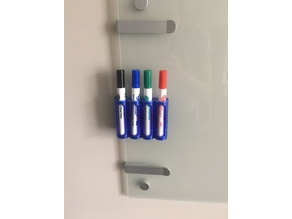 Dry Erase Marker Holder with Clip