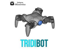 Tridibot Quadruped Arduino and ESP8266 Robot