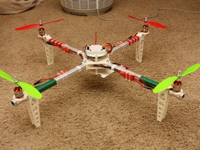 Square tubing quadcopter
