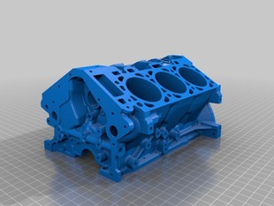 Ford Engine Block (simplified)