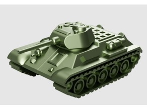 T-34 Tank Articulated Model 1:50