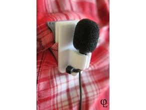 Lavalier Microfon Clip Holder Mount