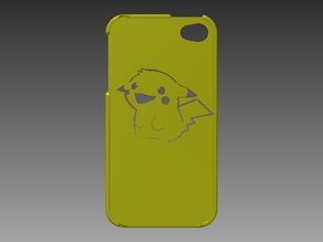 Pikachu Iphone 4/4s Case