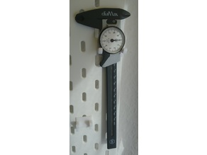 Ikea Skadis Caliper Holder Wiha DialMax