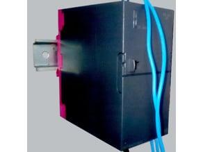 DIN Rail adapter for Siemens S7-300 PLC/ PSU