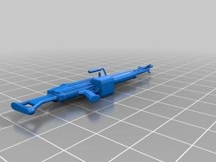 Fallout New Vegas Light Machine Gun