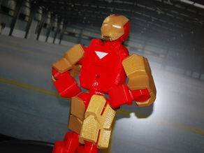 Iron Man - MARK VI Suit - Fully Posable - no supports