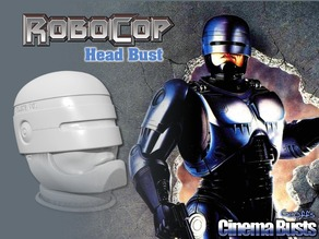 Robocop Head Bust (Full and Split)