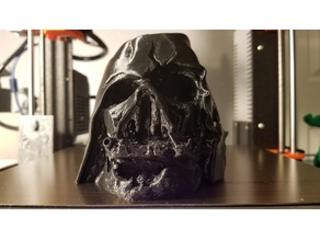 Darth Vader Melted Mask