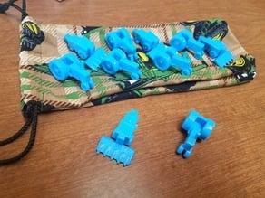 Farming Game 3D Pieces