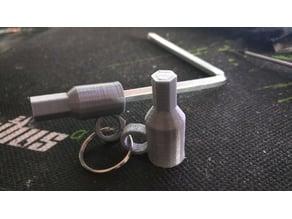 Hex Key Adapter (Metric Allen) / Inbus Aufsatz 6mm to 8mm/10mm