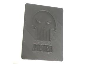 Punisher Joker Card