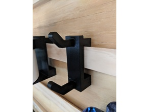 French Cleat Mount Utility Hook