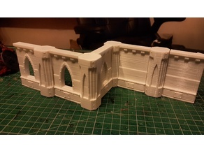 Gothic building tiles