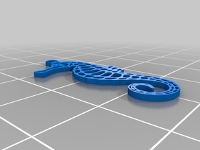 Seahorse chain pendant 2