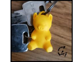 Piggy Keychain / Earring