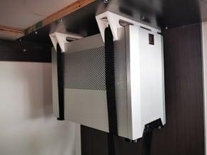 Ncase M1 under desk hanger