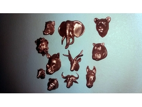 Animal Heads Collection