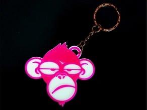 Llavero mono