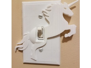 Unicorn Light Switch Cover