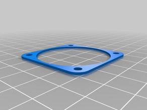 Anycubic i3 MEGA cold end fan spacer